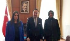 ALDAĞ A.Ş. Yönetim Kurulu Başkan Vekili Rebii M. Dağoğlu Kadınlar Gününde Kabinenin İki Kadın Bakanını Ziyaret Etti