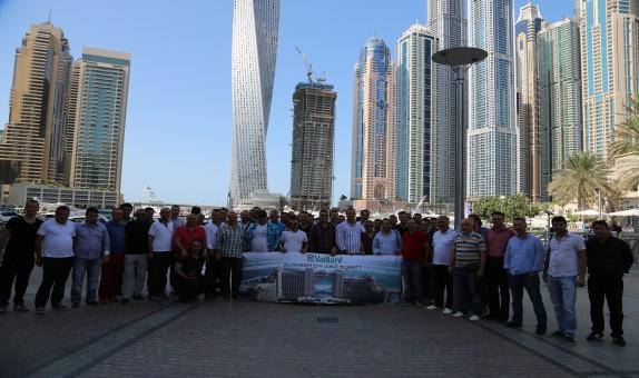 Vaillant Başarılı Yetkili Satıcılarını Dubai'de Ağırladı