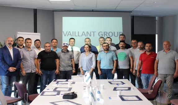 Vaillant Group Türkiye'nin Eğitim Faaliyetleri  2019 Yılında Tüm Hızıyla Sürdü