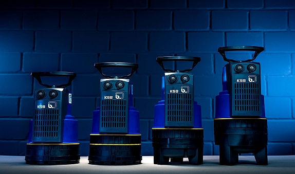 KSB 'den Yeni Nesil Dalgıç Pompalar