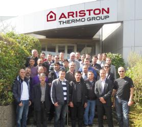 Ariston Thermo Bayilerini Belçika'da Buluşturdu