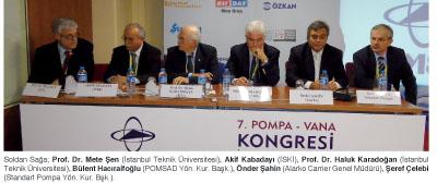 7. Pompa –Vana Kongresi'nde Düzenlenen Panellerde Sektör Sorunları Tartışıldı