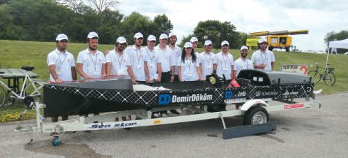 """DemirDöküm - İ.T.Ü Güneş Teknesi, Amerika'daki """"Solar Splash"""" Yarışması'nda Dünya Şampiyonu Oldu"""