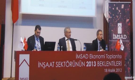 İnşaat, Konut ve Gayrimenkul Sektörünün 2012 Değerlendirmesi, 2013 Beklentileri