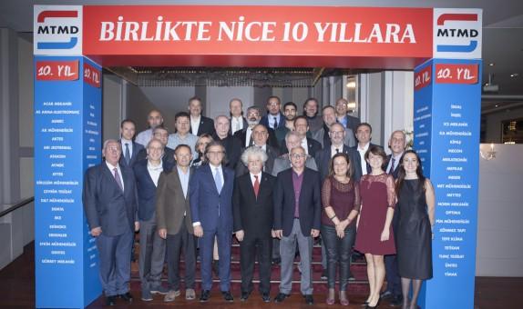 Mekanik Tesisat Müteahhitleri Derneği 10. Yılını Kutladı