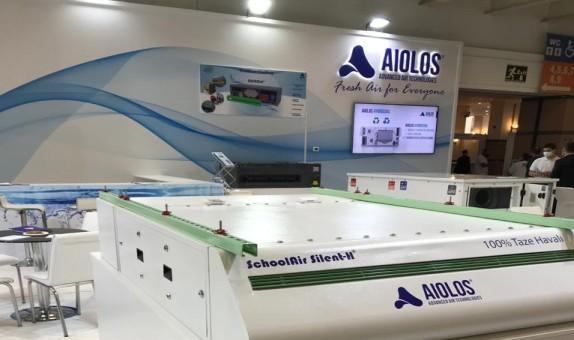 AiolosAir, ISK-SODEX Fuarında %100 Taze Havalı, Endirekt Evaporatif Soğutmalı Cihazlarıyla İlgi Gördü