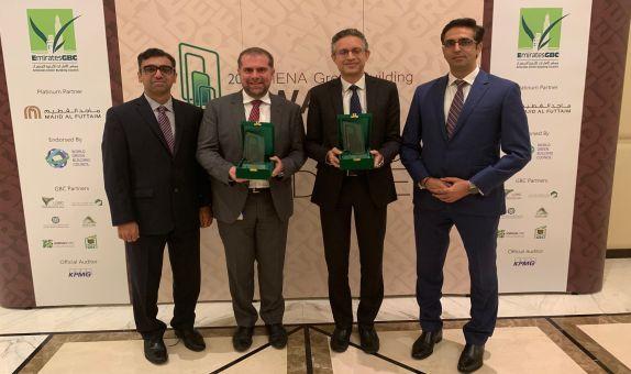 Carrier, Dubai'de Yeşil Bina Ödülleri'nde İki Ödül Kazandı.