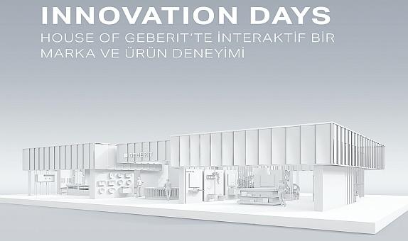 Geberit Innovation Days için Geri Sayım Başladı