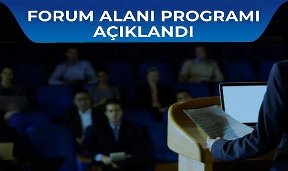 ISK-SODEX İstanbul Forum Alanı Programı Açıklandı