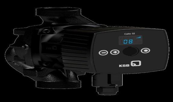 KSB'den Yeni 150 Watt Calio SI HP Sirkülasyon Pompaları class=