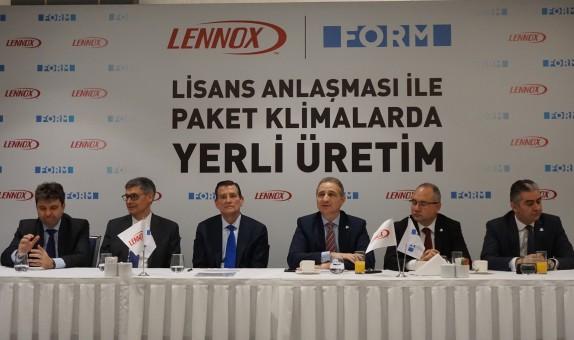 Lennox Paket Klimalar, Form'un Tesislerinde Üretilecek