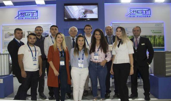 MGT Filtre, ISK-Sodex İstanbul 2019'da Yeniliklerini Anlattı