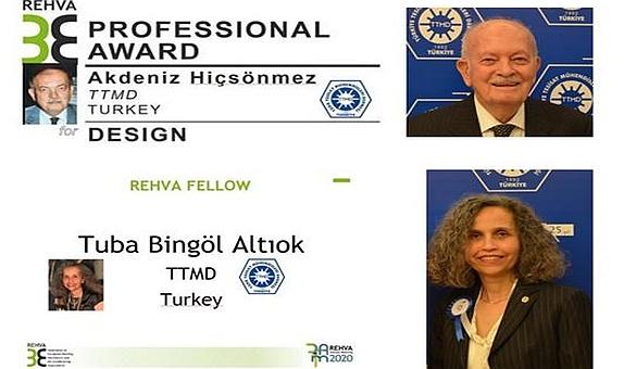 REHVA'dan TTMD Üyelerine Ödül