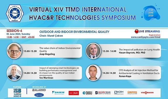 Sanal TTMD XIV. Uluslararası Yapıda Tesisat Teknolojisi Sempozyumu Başladı