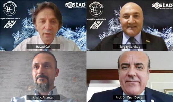 SOSİAD'ın Soğuk Zincir Konulu Webinarı Yoğun İlgi Gördü
