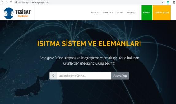 Tesisat Diyalogları Web Sitesi Yayında