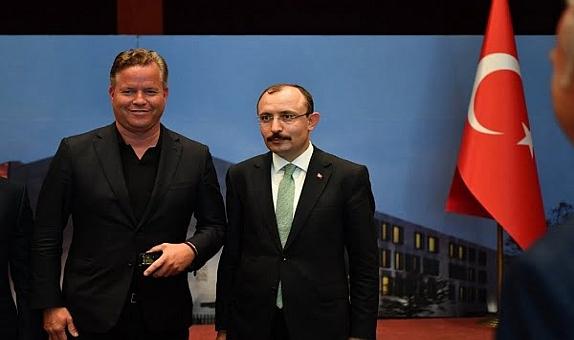 Türkiye Cumhuriyeti Ticaret Bakanı Wilo Grup ile Görüş Alışverişinde Bulundu