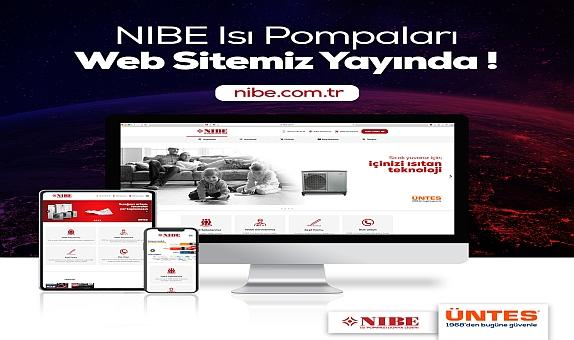 Üntes Güvencesindeki NIBE Isı Pompaları Web Sitesi Yayın Hayatına Başladı