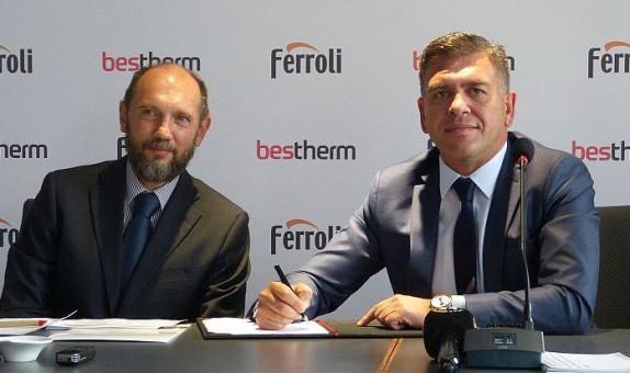 Ferroli, Türk Bestherm İklimlendirme ile Güçlerini Birleştirdi