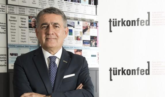 """TÜRKONFED Yönetim Kurulu Başkanı Orhan Turan: """"Sürdürülebilir Bir Büyüme İçin Önce Küçüğü Düşünmek Gerek'' class="""