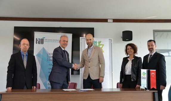 İSKİD, Türk-Alman Üniversitesi ile İş Birliği Protokolü İmzaladı