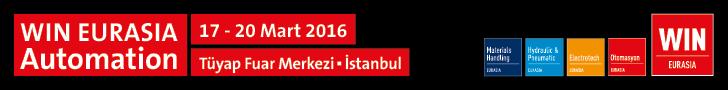 WIN EURASIA Automation | 17-20 MArt 2016 | Tüyap Fuar Merkezi - İstanbul