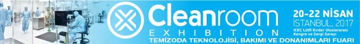 Cleanroom Exhibition - Temizoda Teknolojisi, Bakımı ve Donanımları Fuarı | 20-22 Nisan 2017 | ICEC Lütfi Kırdar Uluslararası Kongre ve Sergi Sarayı - İstanbul