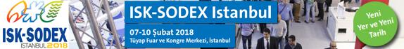 ISK-SODEX 2018 | 7-10 Şubat 2018 | TÜYAP Fuar ve Kongre Merkezi, Istanbul